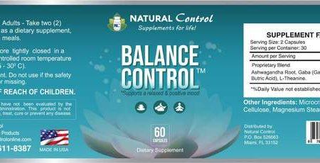 suplemento control natural balance control