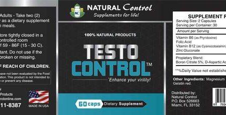 refuerzo de testosterona control natural